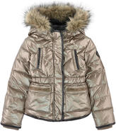 Ikks Faux fur-lined padded coat
