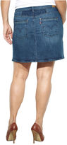 Levi's Plus Size Skirt, Denim