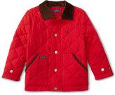 Ralph Lauren Little Boys' Diamond-Quilted Corduroy Jacket