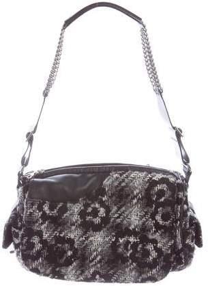 Chanel Tweed Camera Flap Bag