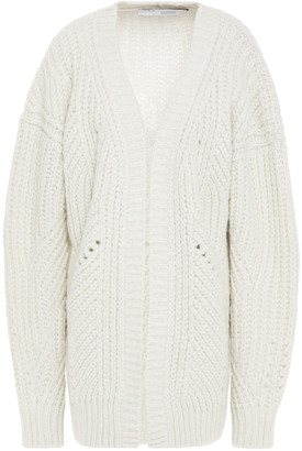 IRO Metallic Knitted Cardigan
