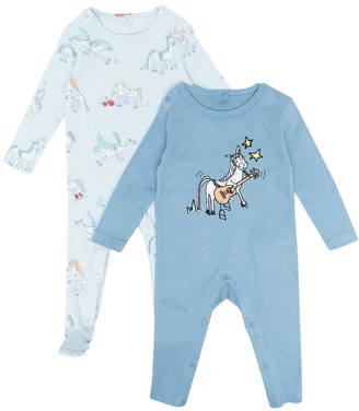 Stella McCartney Kids Horse-Print Pajamas
