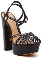 Schutz Corrio Grommet Platform Sandal