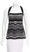 M Missoni Sleeveless Knit Top