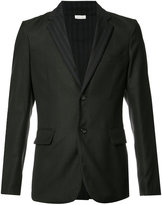 Comme des Garcons patterned two-button blazer - men - Silk/Wool - XS