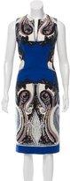 Etro Wool Paisley Print Dress