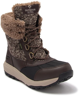 Skechers On The GO Outdoors Ultra Frost Bound Faux Shearling Lined Boot