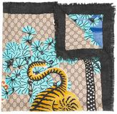 Gucci Bengal scarf - women - Silk - One Size