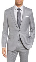 BOSS Men's Hutsons Trim Fit Wool & Silk Blazer