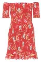 Zimmermann Corsair linen and cotton minidress