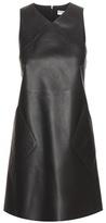 Balenciaga Leather Shift Dress