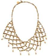Erickson Beamon Crystal & Pearl Multistrand Necklace