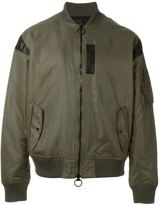 Mostly Heard Rarely Seen classic bomber jacket