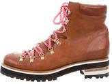 Rupert Sanderson Lace-Up Ankle Boots