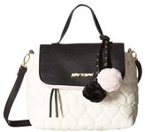 Betsey Johnson Be Mine Top Handle Satchel