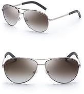 Marc by Marc Jacobs Side Stripe Aviator Sunglasses