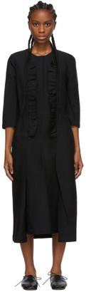 Comme des Garcons Black Ruffle Detail Dress