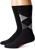 Dockers 2 Pack Argyle Crew Socks