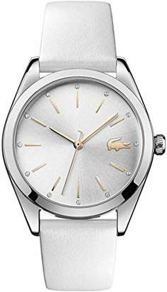 Lacoste Women's Analogue Quartz Watch with Leather Strap 2001099