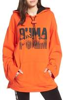 Puma by Rihanna Back Zip Logo Hoodie