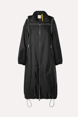 Noir Kei Ninomiya Moncler Genius - + 6 Embellished Shell Jacket - Black