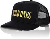 AMIRI Men's Wild Ones Cotton Trucker Hat