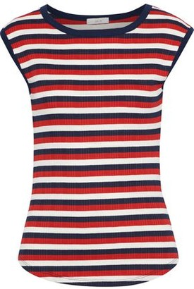 Joie Tasmin C Striped Ribbed Jersey Top