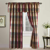 UNITED CURTAIN CO United Curtain Co Plaid Rod-Pocket Curtain Panel