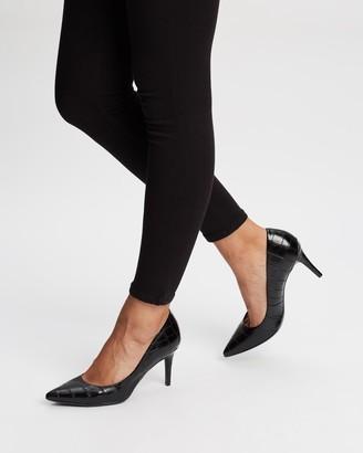 Calvin Klein Gayle Croc Heels