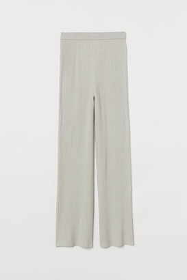 H&M Rib-knit trousers