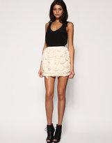 Opulence Chiffon Rosette Skirt