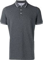 Brunello Cucinelli plain polo shirt - men - Cotton - S