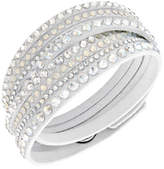 Swarovski Fabric Crystal Slake Wrap Bracelet