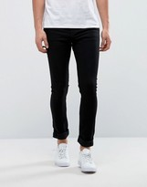 Only & Sons Super Extreme Skinny Black Jeans