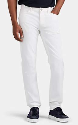 Theory Men's Haydin Cotton Slim-Straight Pants - White