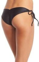 Luli Fama Women's 'Wavy' Brazilian Side Tie Bikini Bottoms