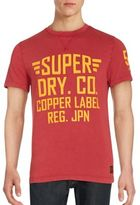 Superdry Solid Letter Print Tee
