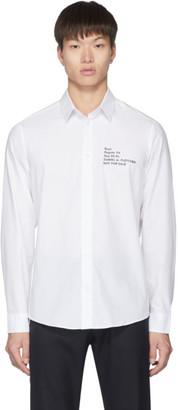 Daniel W. Fletcher White Back to School Shirt