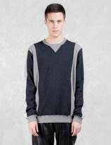 VALLIS BY FACTOTUM Two Tone Sweatshirt