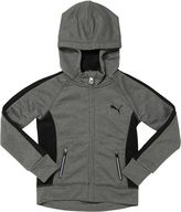 Puma Poly French Terry Zip-Up Hoodie (4-6X)