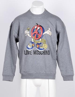 Love Moschino Men's Gray Sweatshirt