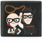 Dolce & Gabbana Designer's patch billfold wallet