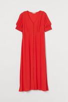 H&M MAMA Creped Dress