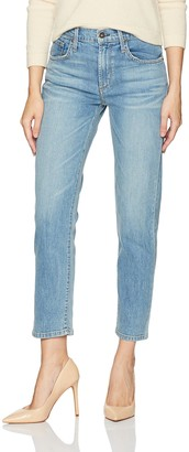 James Jeans Women's Donna High-Rise Straight Leg Ankle Jean in Artisan 27