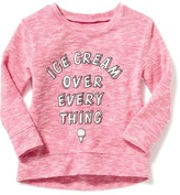 "Old Navy ""Ice Cream Over Every Thing"" Sweatshirt for Toddler Girls"