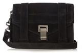 Proenza Schouler PS1 mini suede cross-body bag