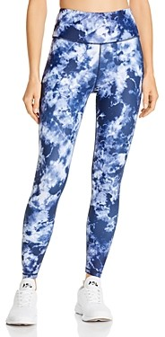 Aqua Athletic High-Rise Tie-Dye Leggings - 100% Exclusive