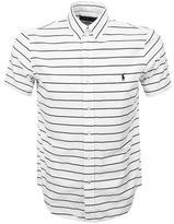 Ralph Lauren Short Sleeved Striped Shirt White