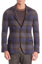 Etro Wool Plaid Sportscoat