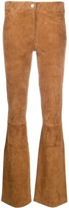 Arma Low-Waist Lambskin Trousers